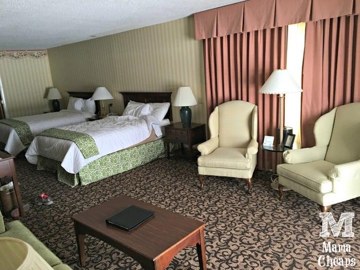 Lake Morey Resort Hotel Room