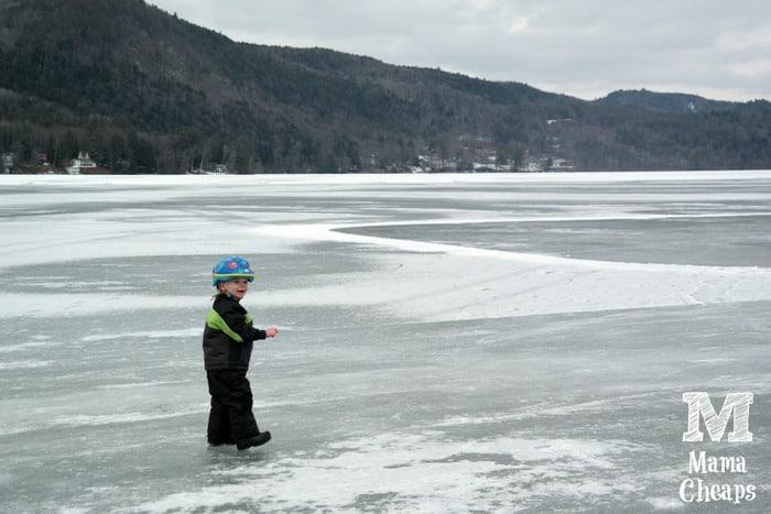 Landon Lake Morey Ice Skating