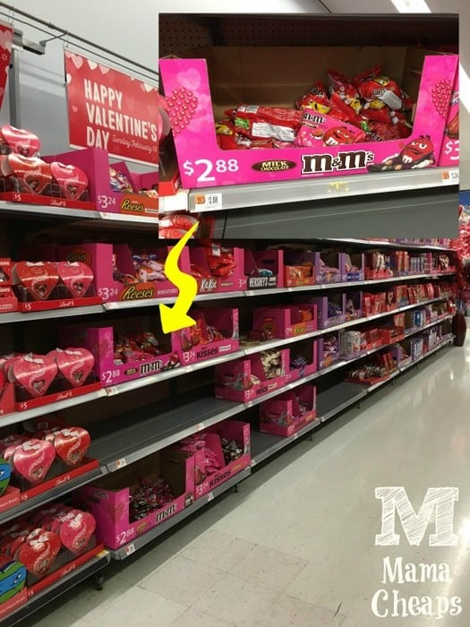 Walmart Seasonal Candy Aisle