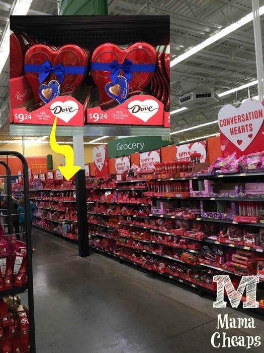 Mama Cheaps Strawberry Chocolate Cupid Bites For