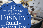 15 Must Know Tips for your Disney Family Vacation