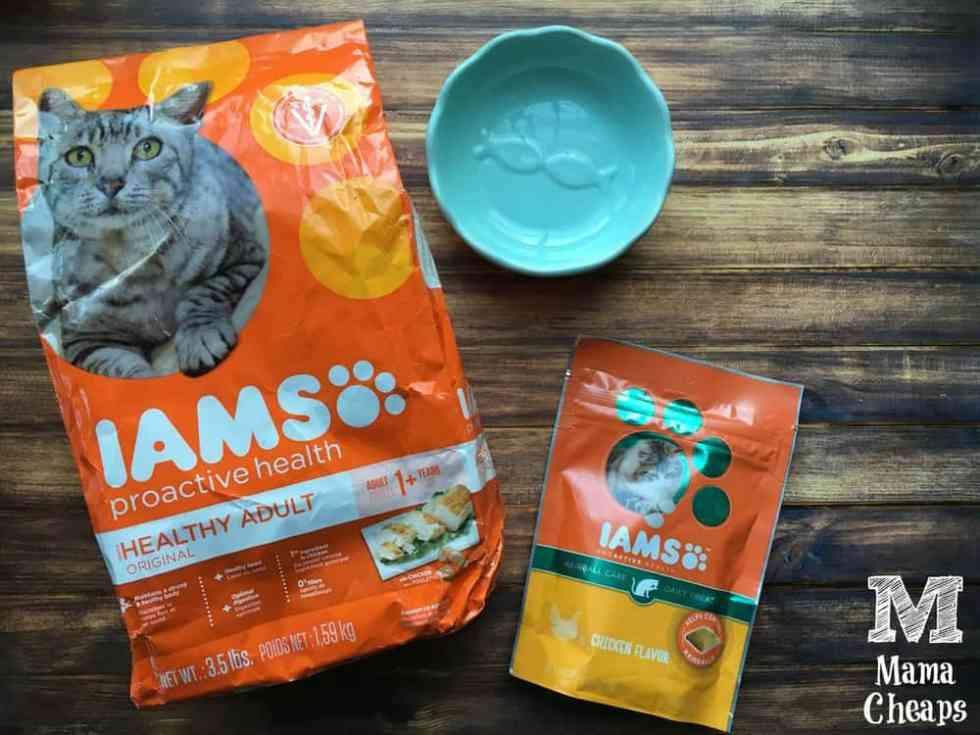 IAMS Cat Food and Treats