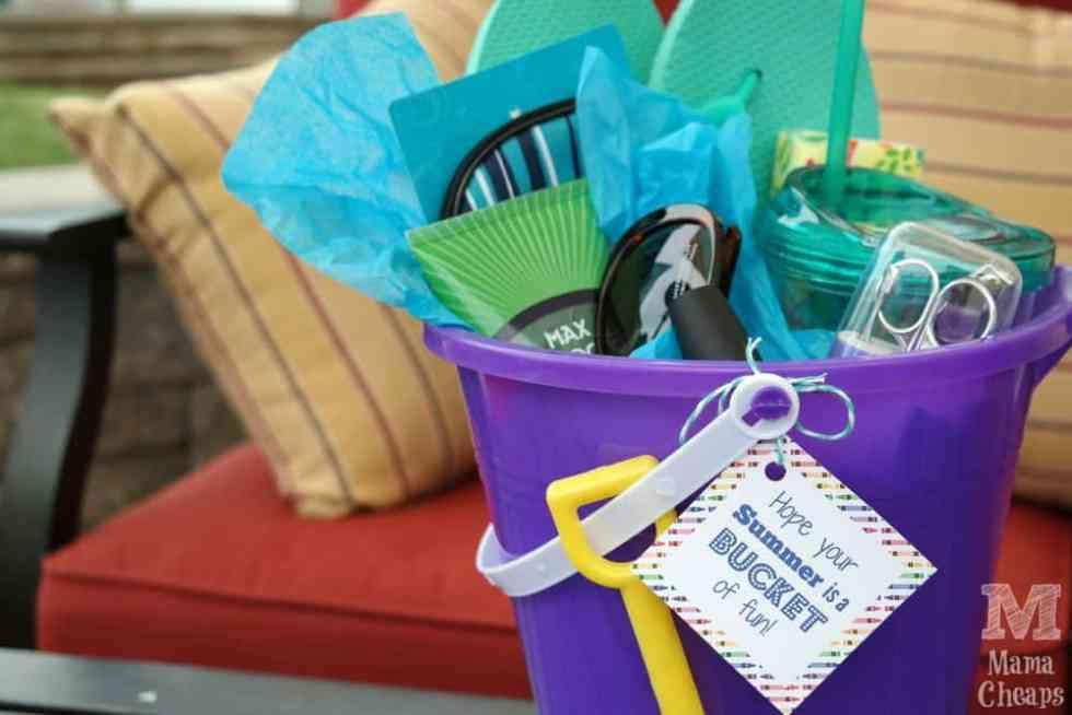 Teacher Gift Beach Bucket