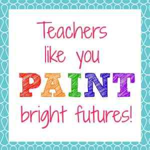 Teachers Paint Bright Futures