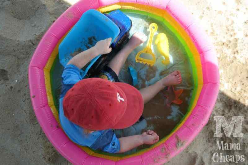 Baby Pool on Beach