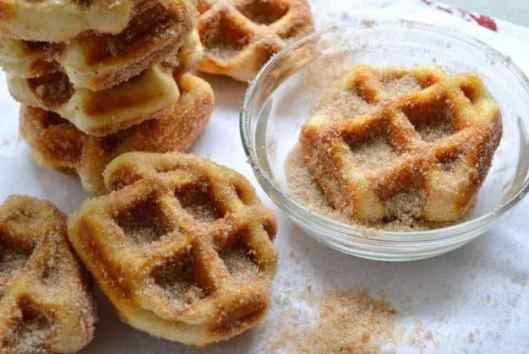 5 Minute Waffles