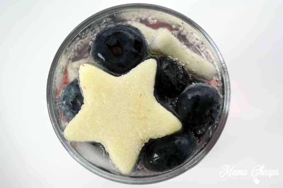 Apple Stars in Soda