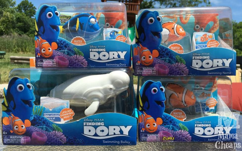 Finding dory robo fish from zuru toys video review with for Zuru robo fish