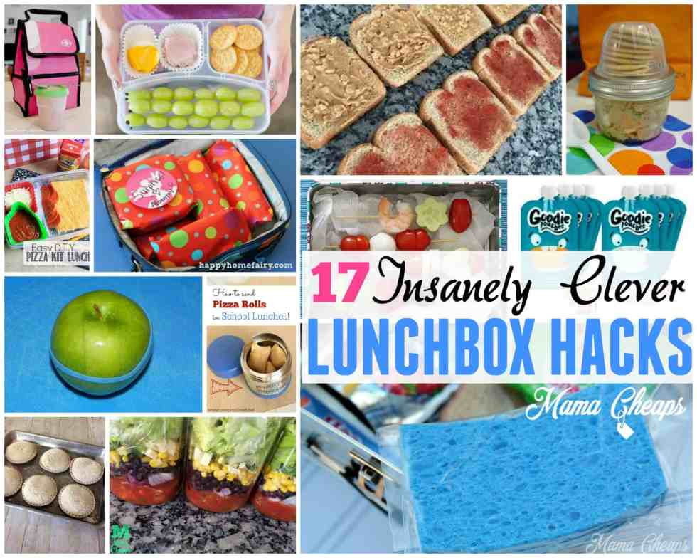 17 Insanely Clever Lunchbox Hacks For Packing School
