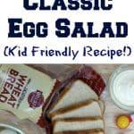 Egg Salad Recipe for Kids