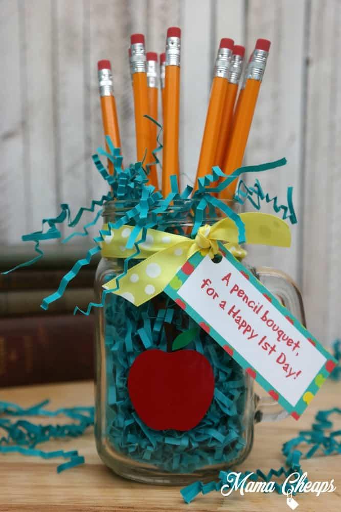 Teacher Gift Pencil Bouquet