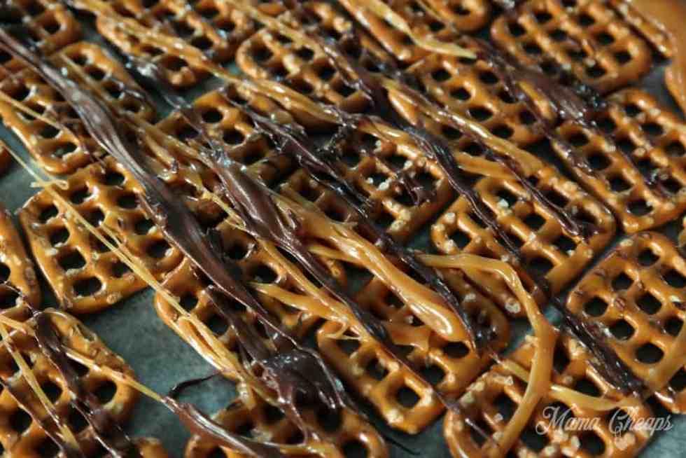 Caramel Chocolate Pretzels