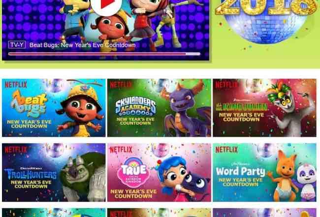2018 NYE Netflix Kids