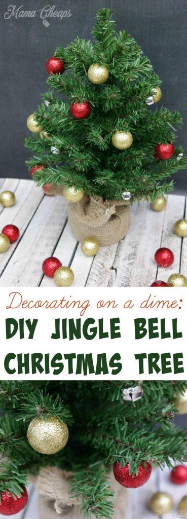 DIY Jingle Bell Christmas Tree