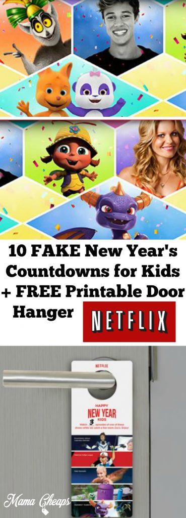 Fake New Years Countdowns