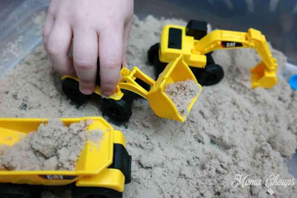 Sand Toys Bulldozer