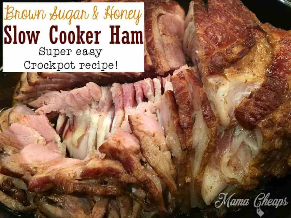Slow Cooker Spiral Ham Dinner