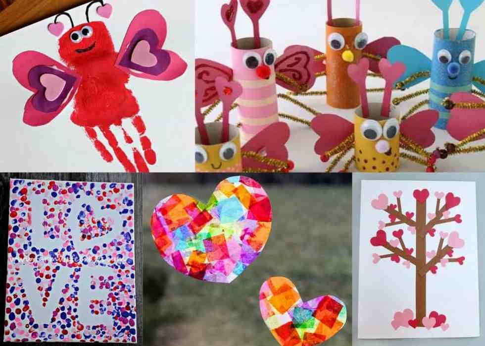 Valentines Day Preschool Crafts Set A