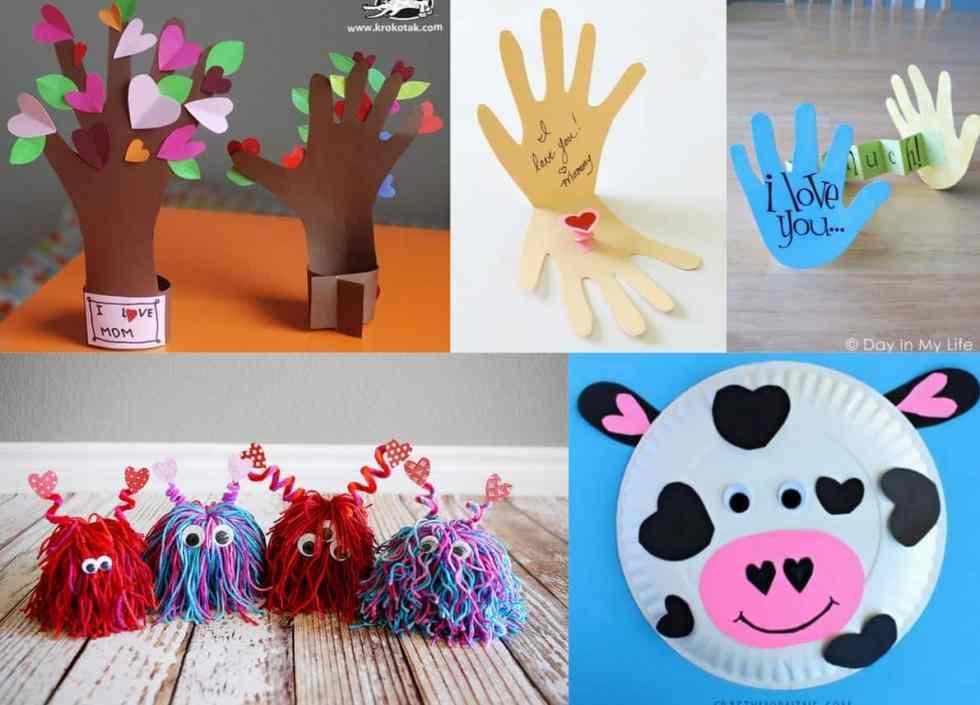 Valentines Day Preschool Crafts Set B