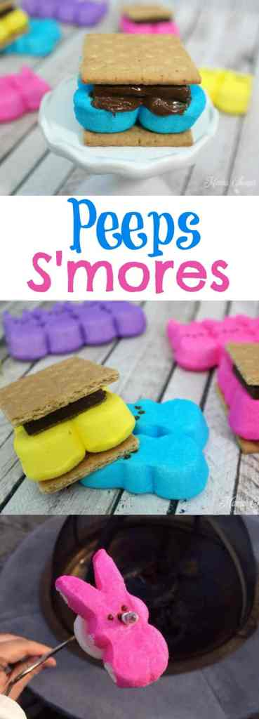 How to Make Peeps Smores