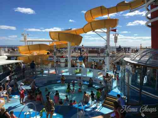 Kid Pool on Disney Magic