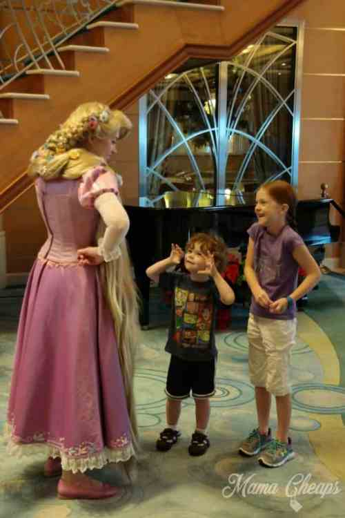 Kids and Rapunzel