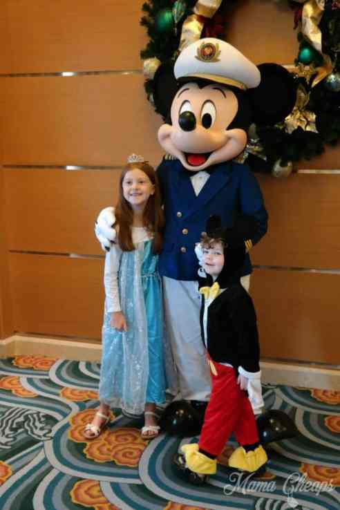 Kids with Captain Mickey