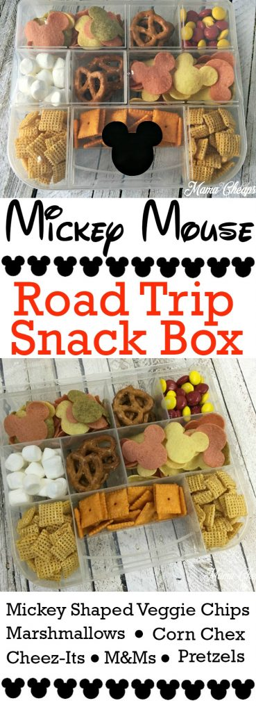 Mickey Mouse Road Trip Snack Box
