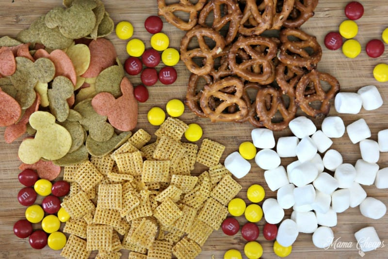 Mickey Mouse Trail Mix Ingredients