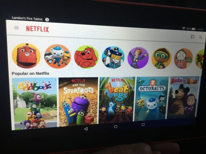 Netflix Kid Account