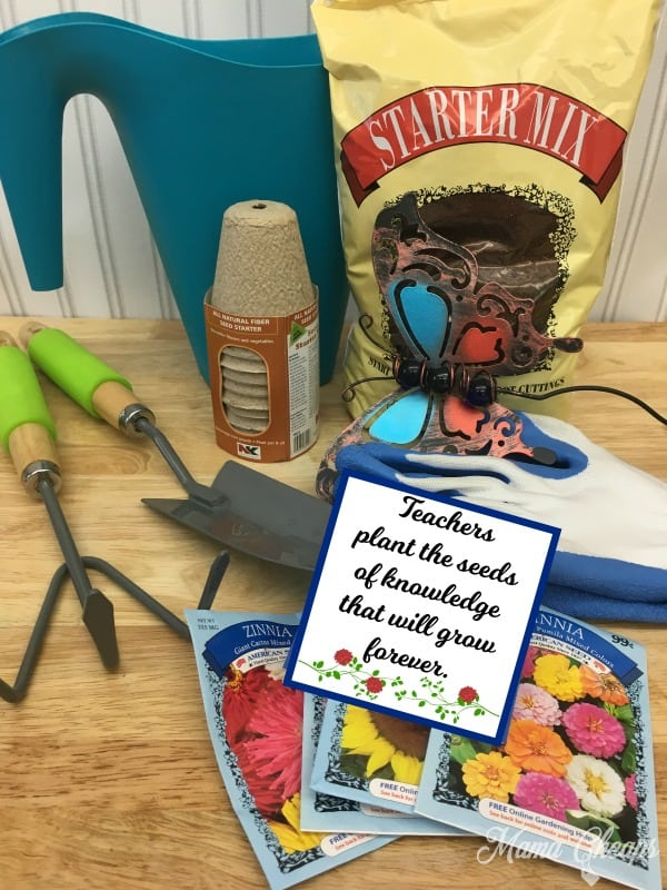 Teacher Garden Gift Supplies