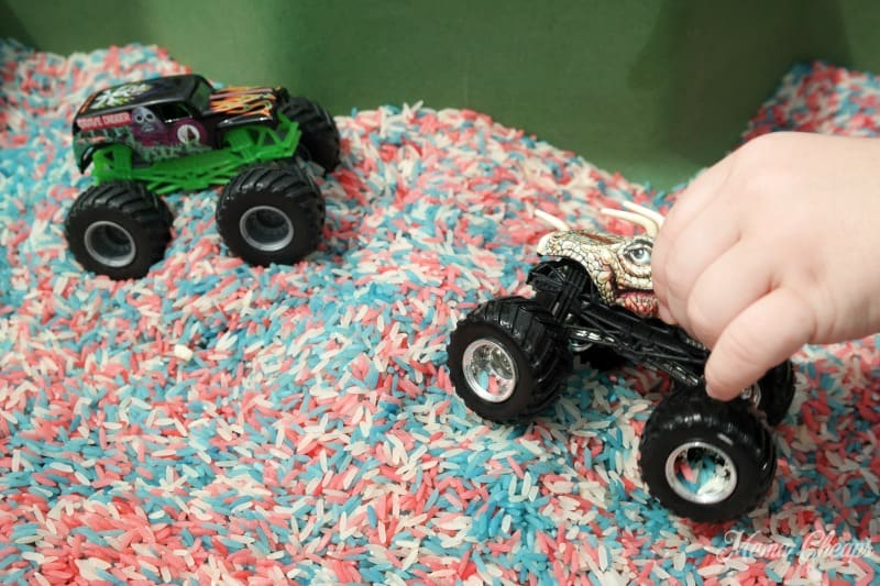 Monster Truck Play in Rice