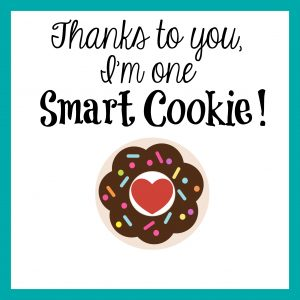 Smart Cookie Gift Tag