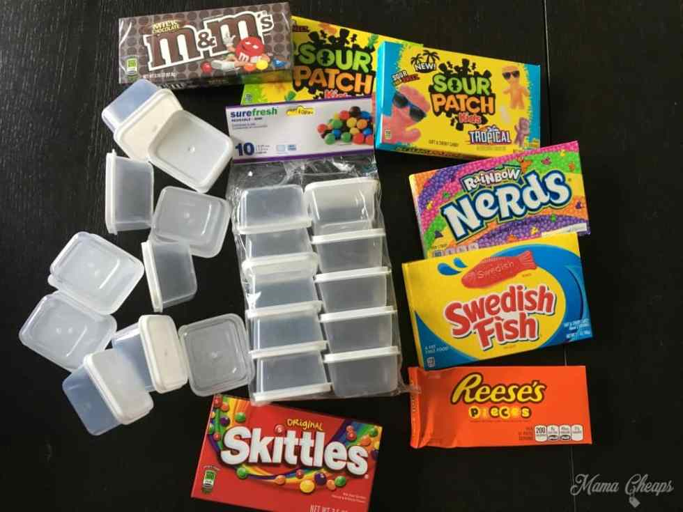 Dollar Store Movie Candy
