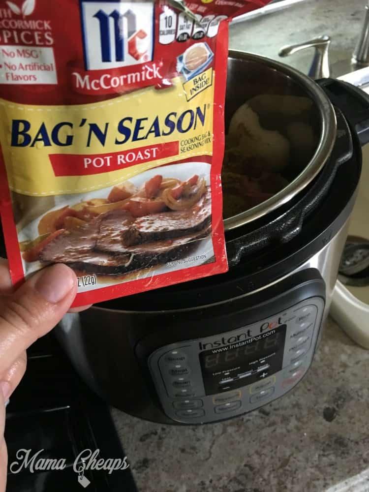 McCormick Pot Roast Seasoning