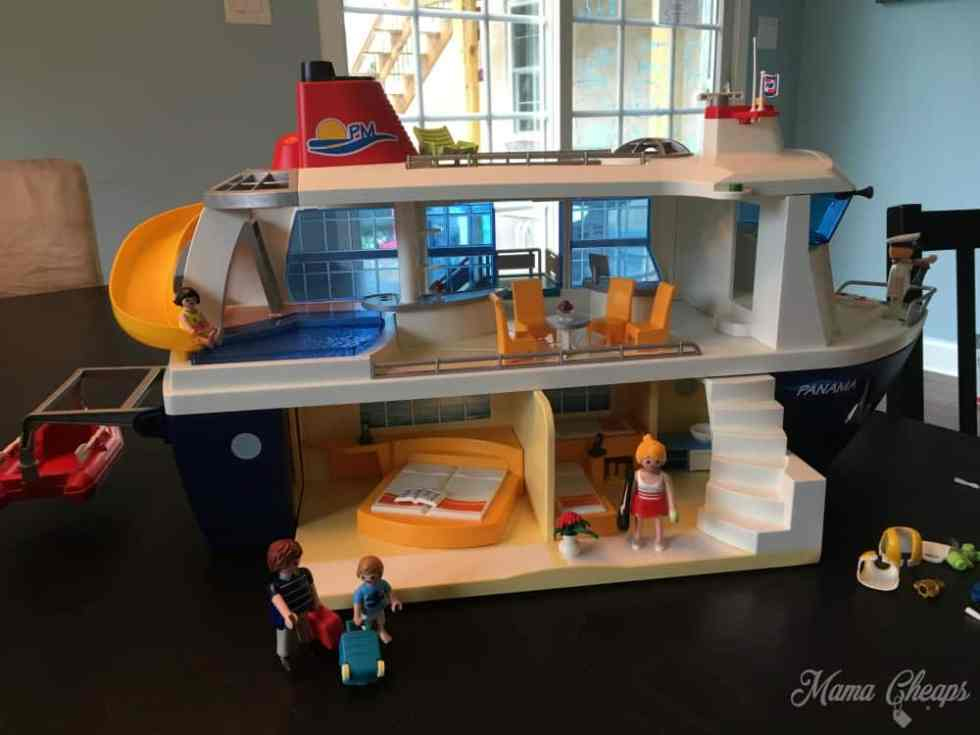 Playmobil Cruise Ship Assembled