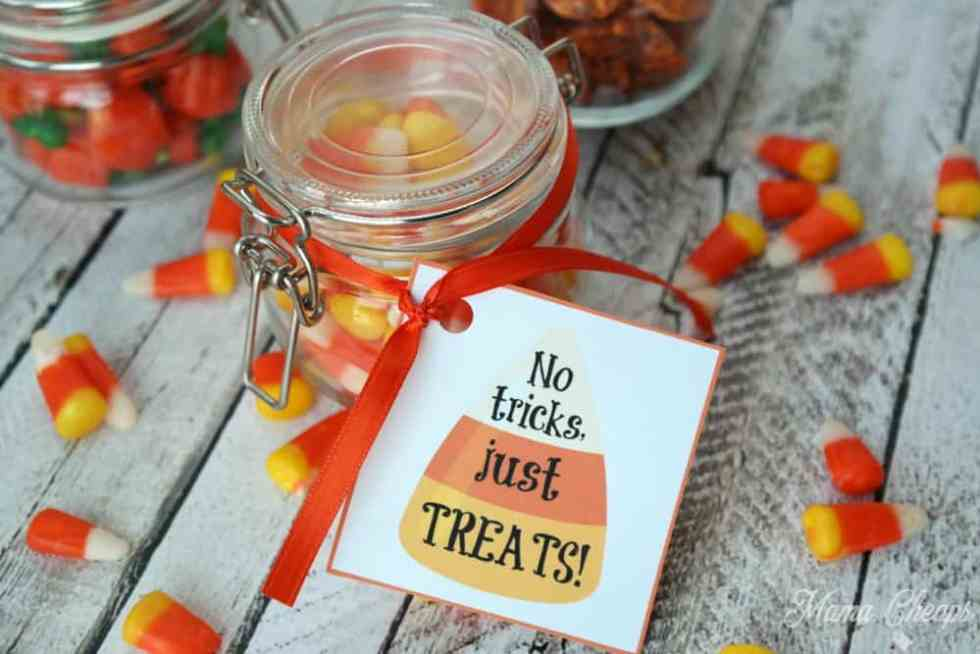 Candy Corn Gift Tag