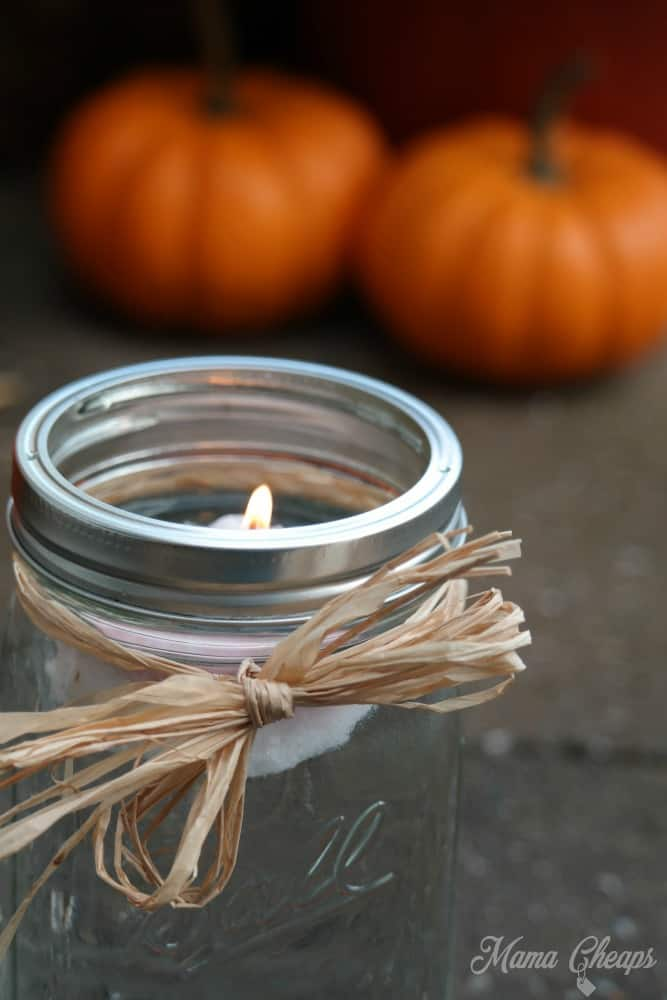Floating Candle Mason Jar