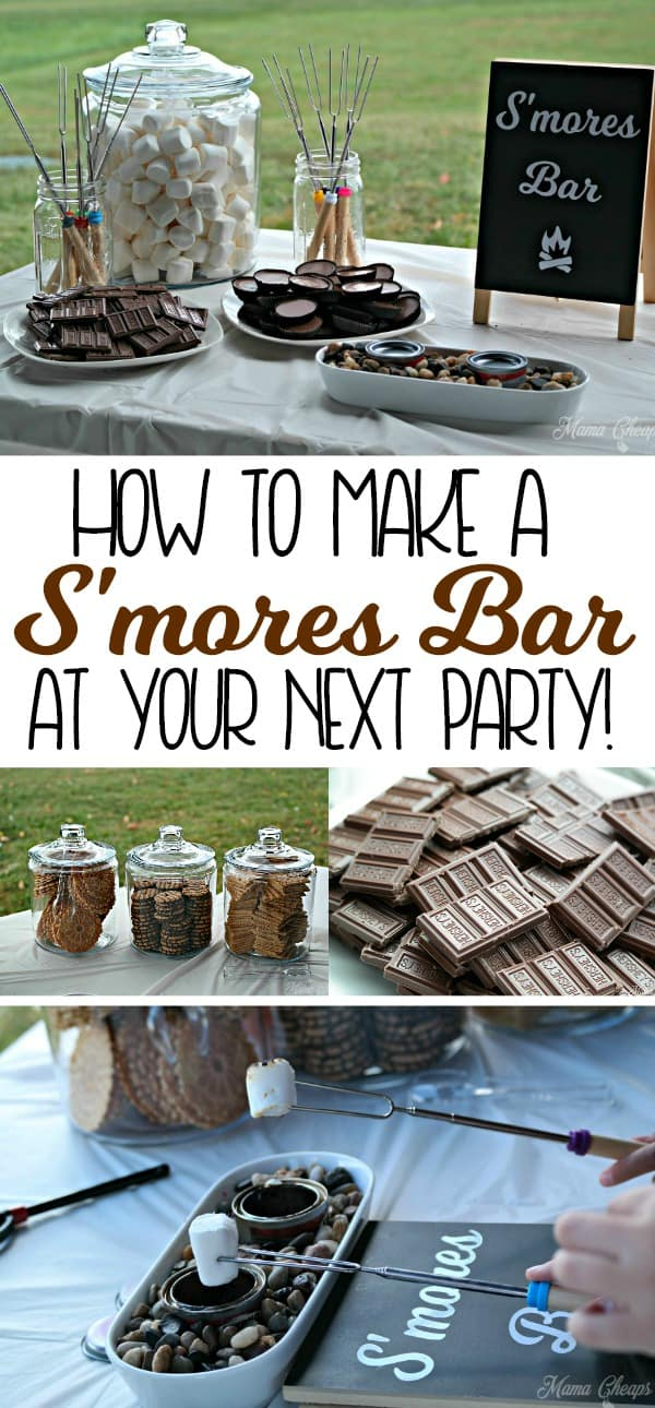 How to Make a S'mores Bar