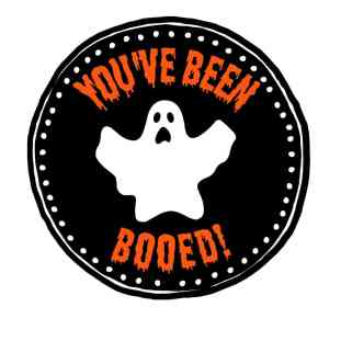 Youve Been Booed Sign