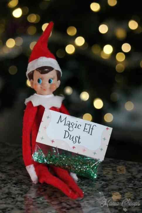 Elf on the Shelf with Magic Dust