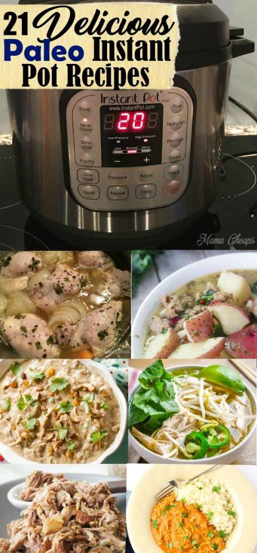 21 Delicious Paleo Instant Pot Recipes