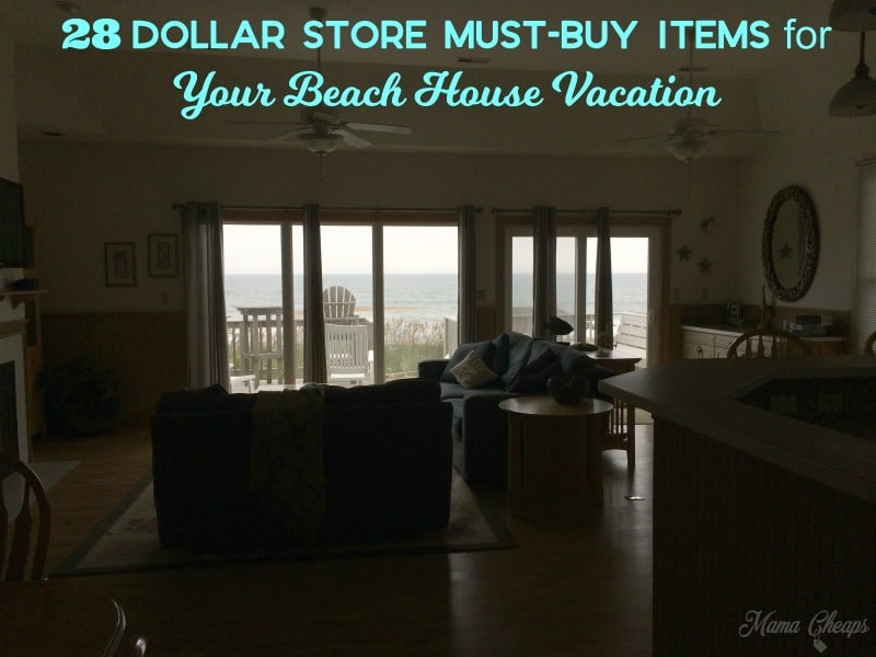 dollar store beach house must buy items