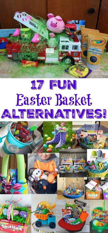 17 Fun Easter Basket Alternatives!