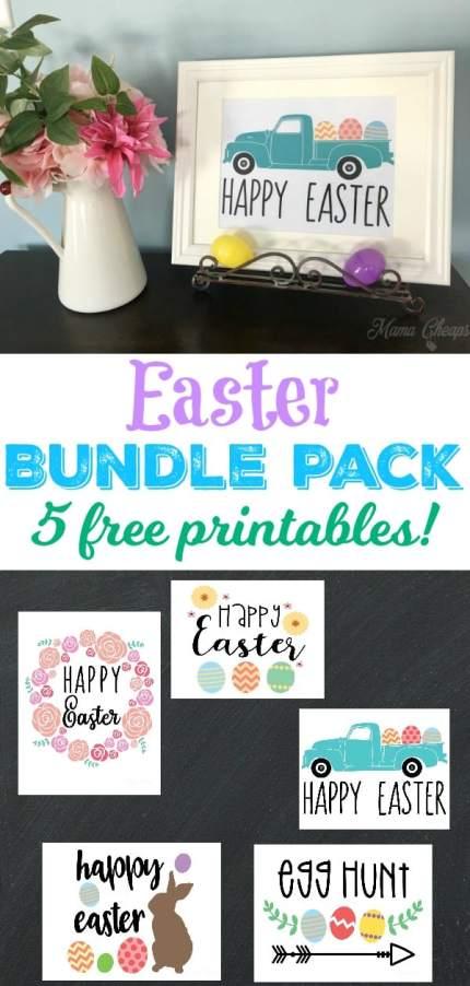 Easter Prints Bundle Pack