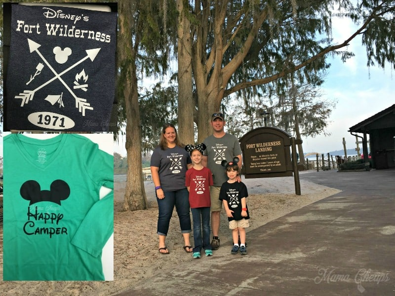 Ideas for Fort Wilderness Shirts