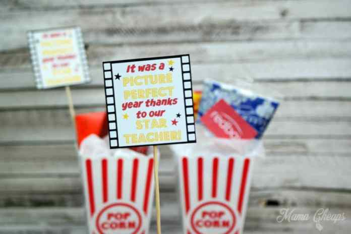 Movie Theater Teacher Gift
