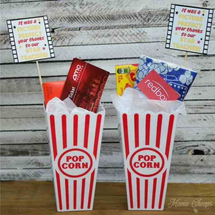 Movie Teacher Gift
