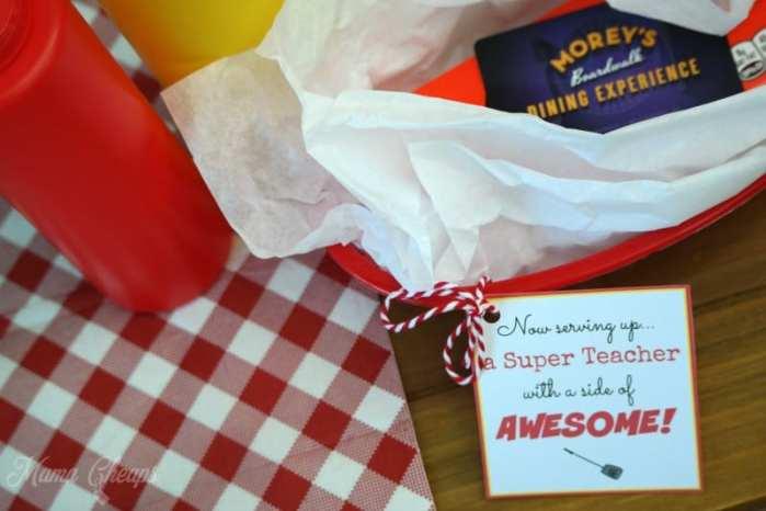 Serving Up Super Teacher Gift