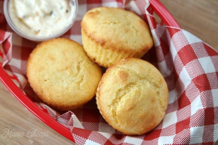 Corn Muffins and Gravy